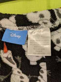 Disney Olaf Pajamas Thumbnail
