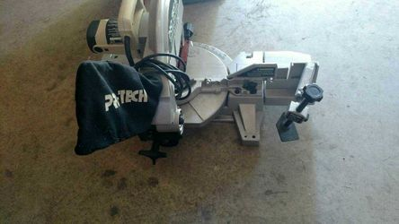 Pro-tech Contractor Series compound miter saw Thumbnail