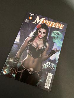 Mystere 1 Comicbook  Thumbnail