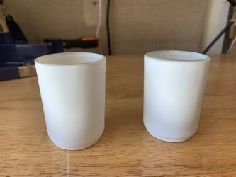 32 White Tea Light Holders For Wedding  Thumbnail