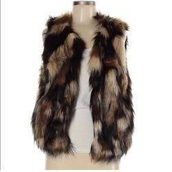 Vintage Havana Fur Vest Thumbnail