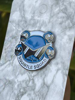 Squirtle Squad Pokemon Pin Thumbnail