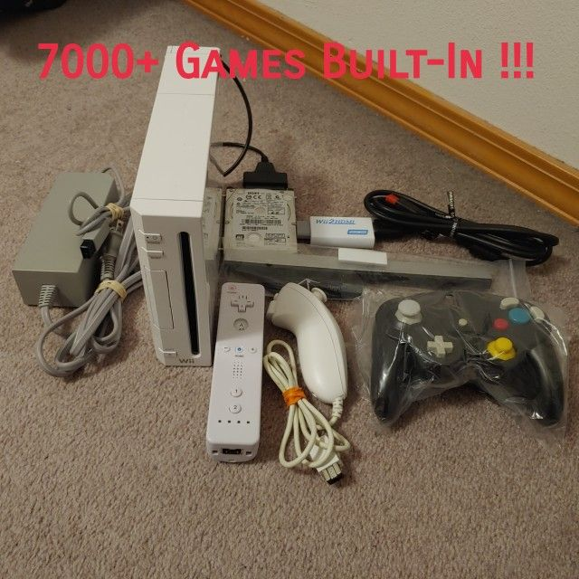 Modded Wii Bundle with 7000+ Games