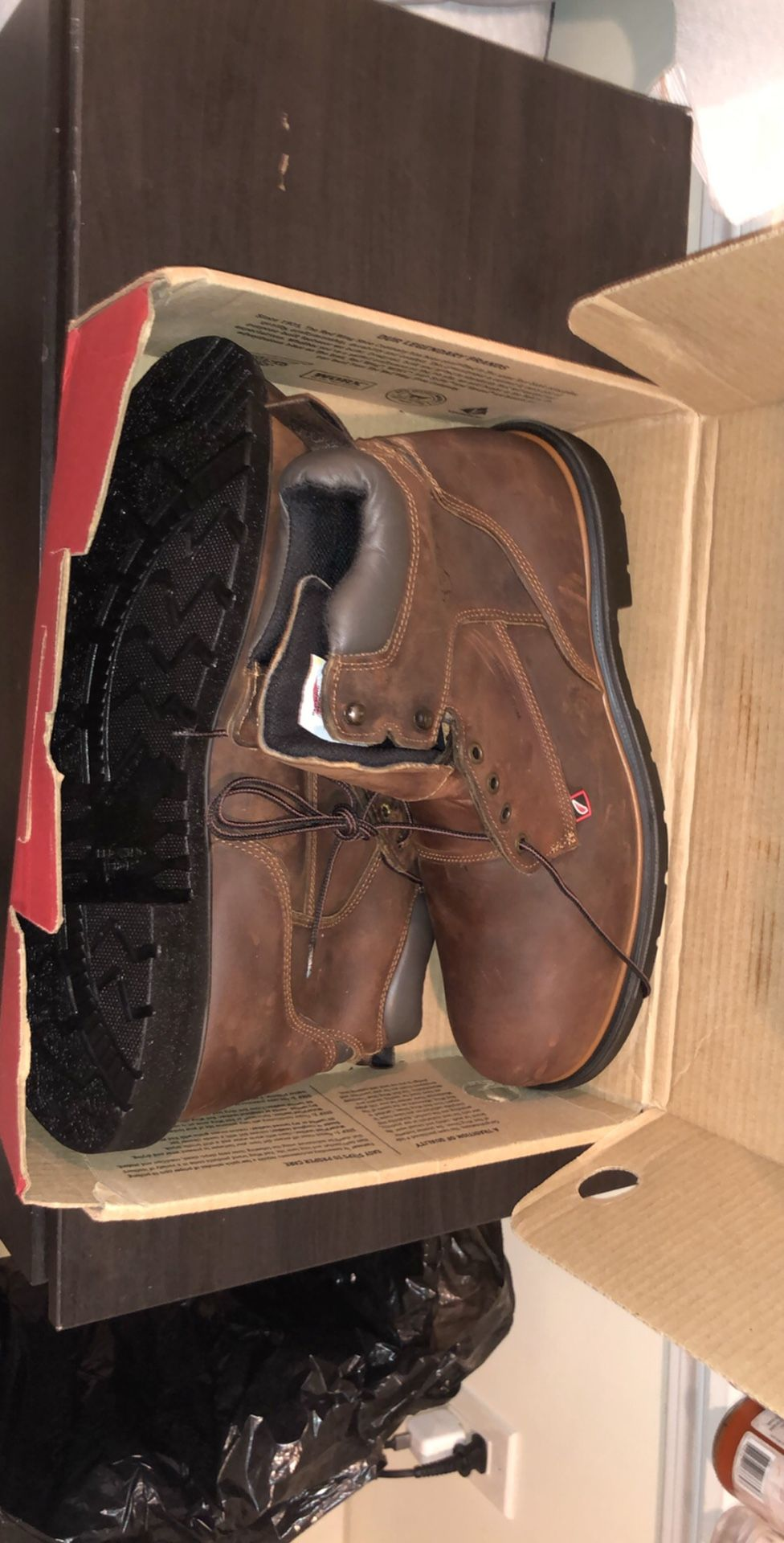 Red wing 8inch boots brand new size 15 style #415