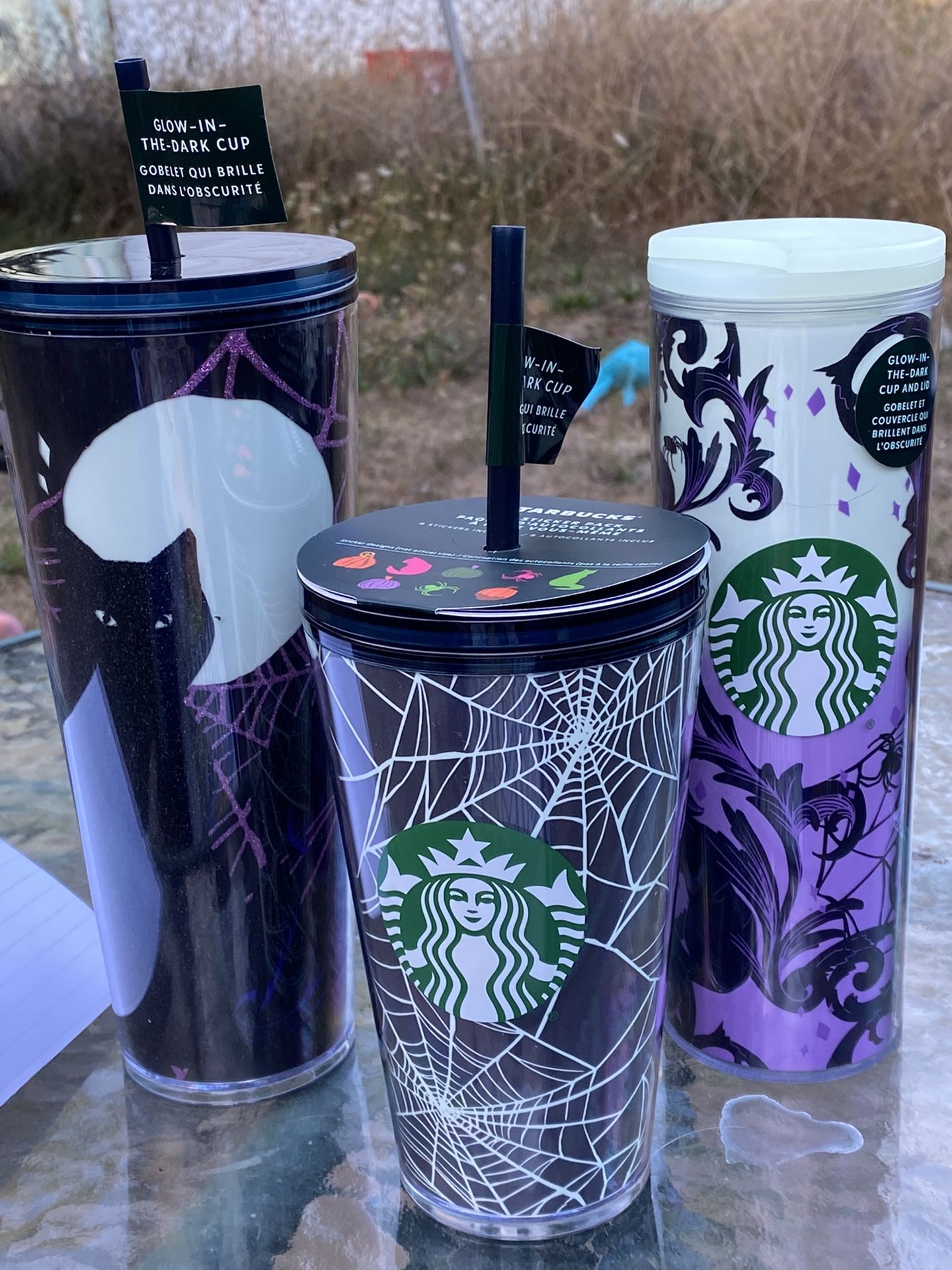 Starbucks Halloween 2021 Tumbler Bundle