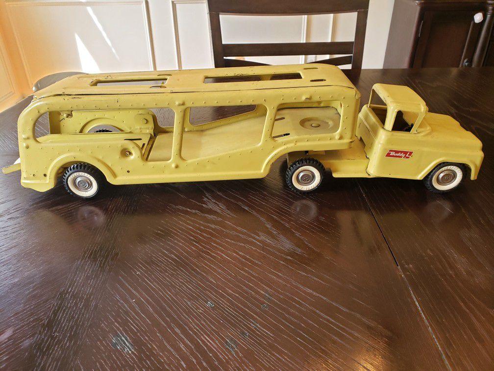 Buddy L car hauler