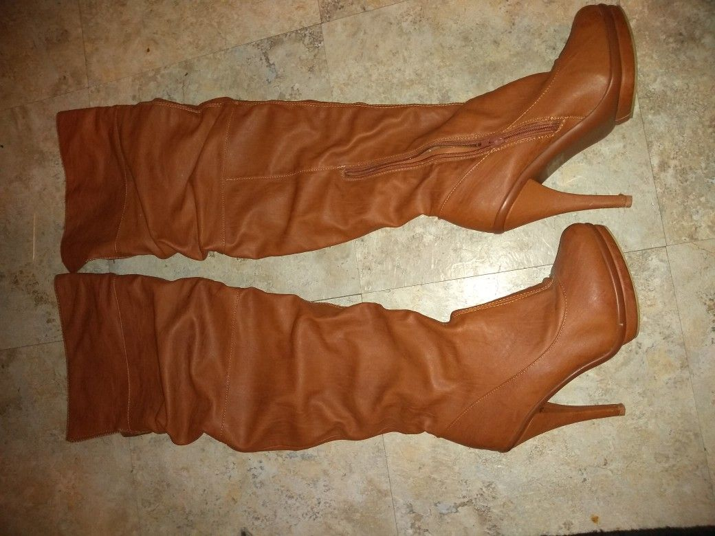 Charlotte Russe Knee High Boots