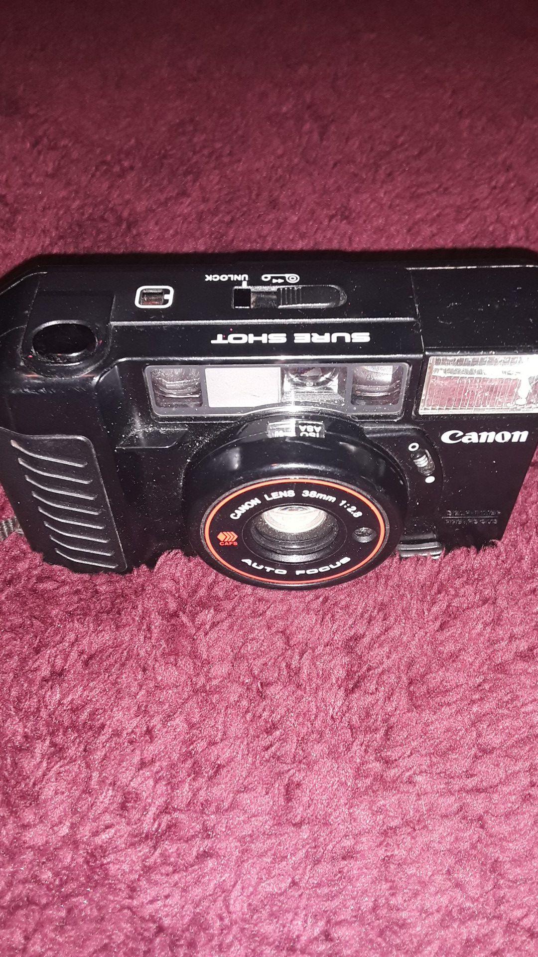 Canon vintage film camera