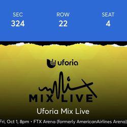Tickets Uforia Mix Live Thumbnail