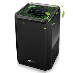 Keenstone KJ130V1 Air Purifier with HEPA Filter, 5-Speed, Black, 100-240V, 17W Thumbnail