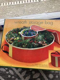 New Wreath Storage bag Thumbnail