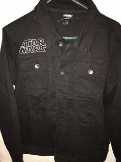 Star Wars Black Denim Jacket Thumbnail