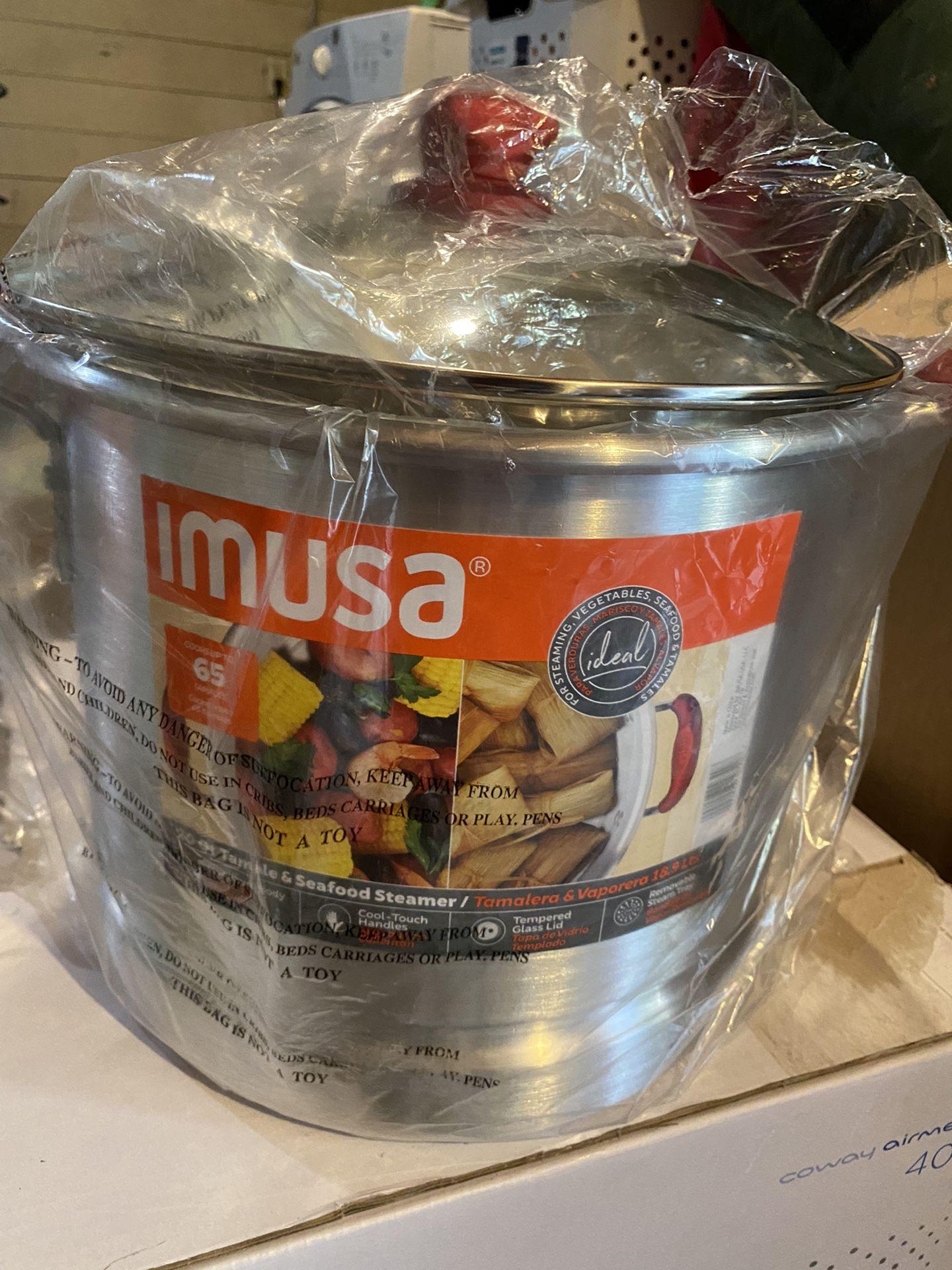 Imusa Steamer Pot