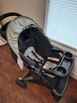 Graco FastAction Fold SE Travel System With SnugRide Infant Car Seat And Stroller  Thumbnail