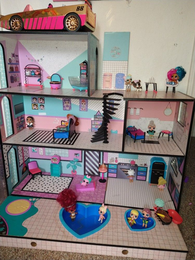Doll House And Furniture Only