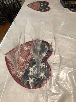 Tiffany Champagne Glasses Thumbnail