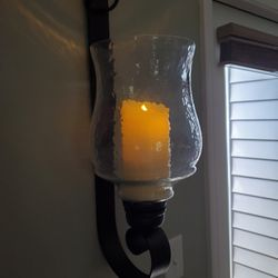 Wall Sconce With Candle Thumbnail