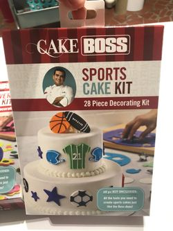 Cake boss cake decorating tools and fondant embossing rolling pins Thumbnail