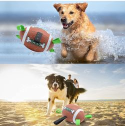 Dog Ball, Dog Toys for Large Dogs, Interactive Dog Toy for Medium & Small Dogs, Water Toys for Dogs (8 Inch) Thumbnail