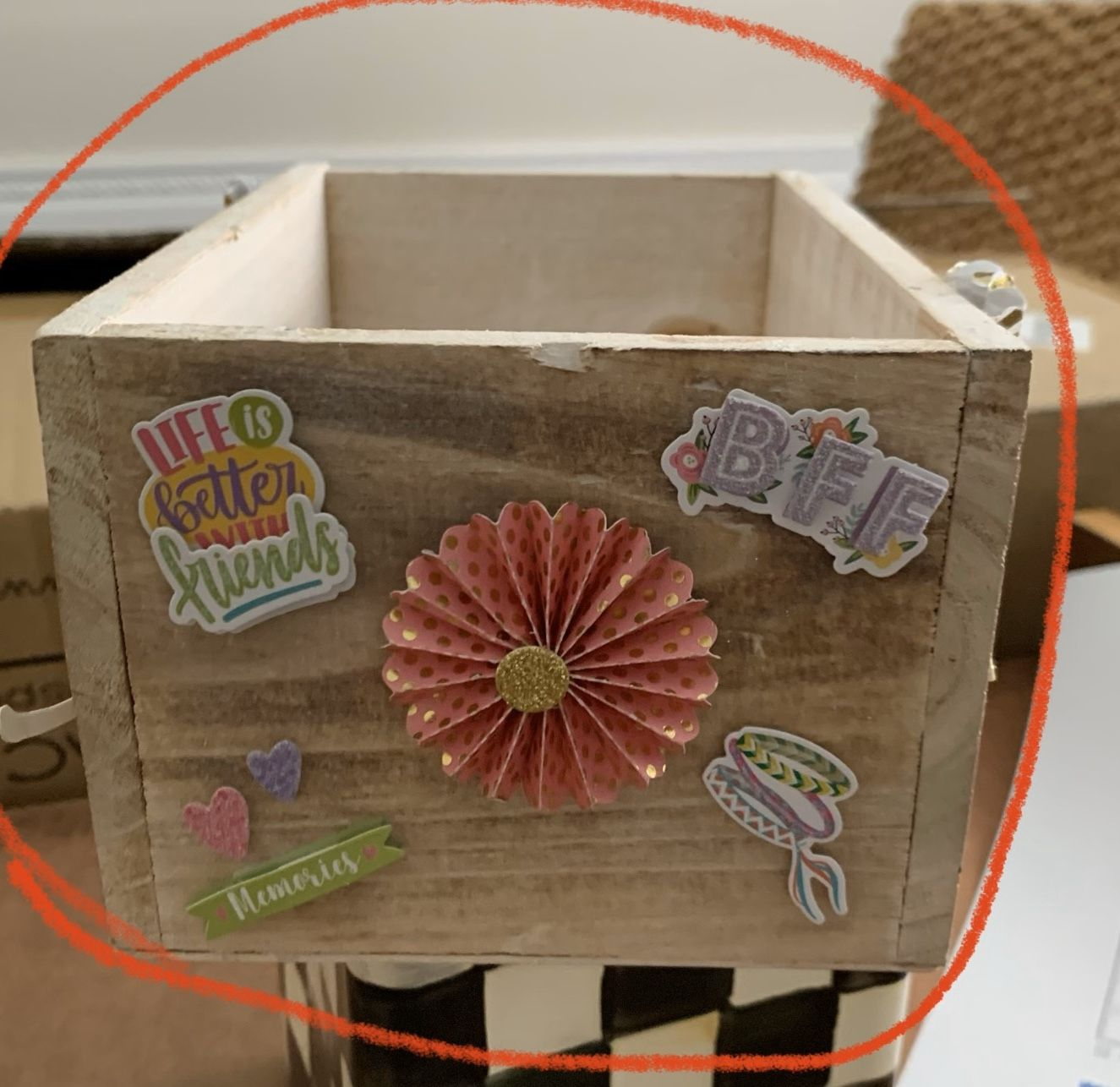 Centerpiece Making Gift Packaging Boxes