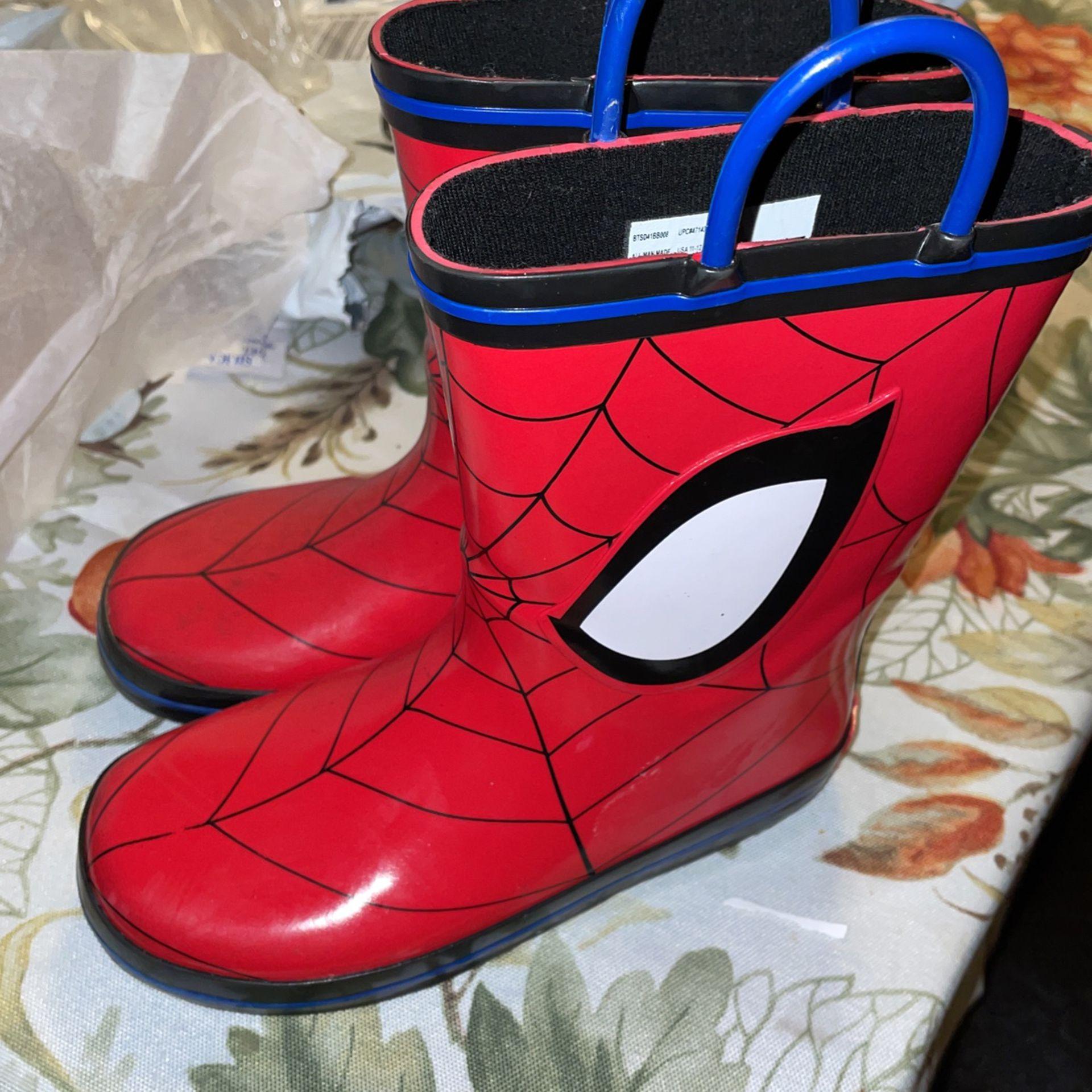 Spider-Man Rain Boots