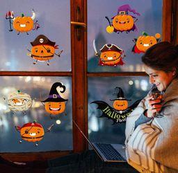 Halloween window clings pumpkins Thumbnail