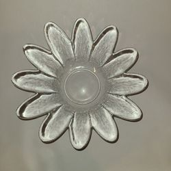 "9"" Glass decorative bowl Thumbnail"