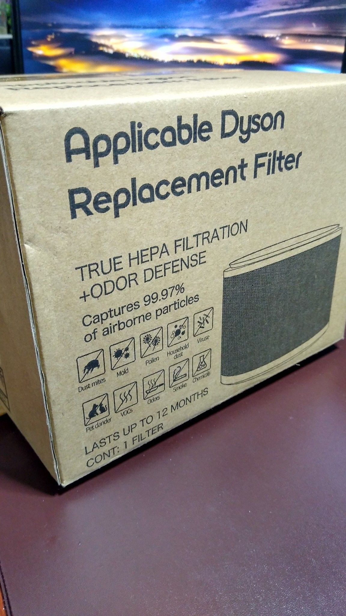 Dyson Pure Cool HEPA Premium Filter