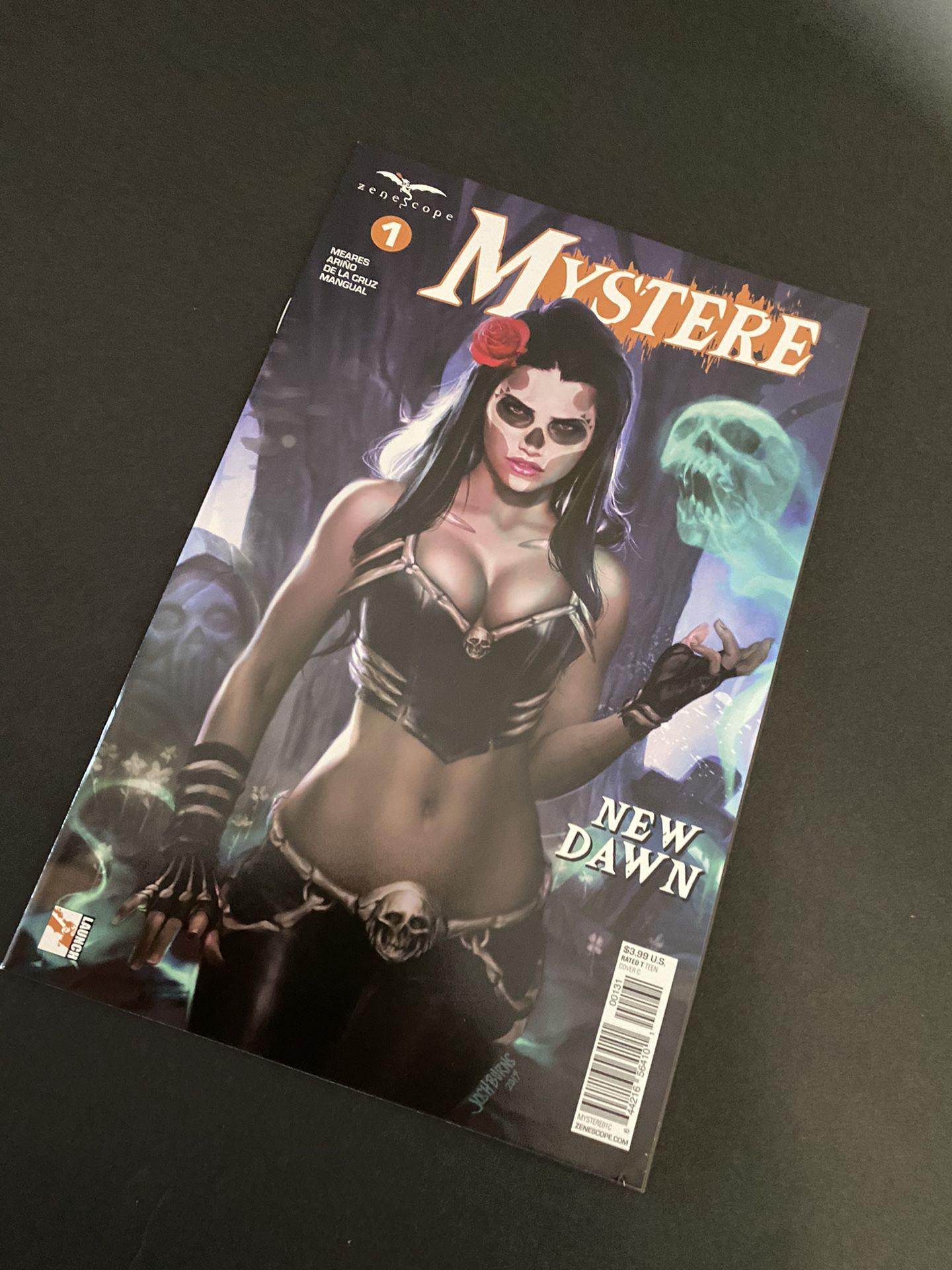 Mystere 1 Comicbook