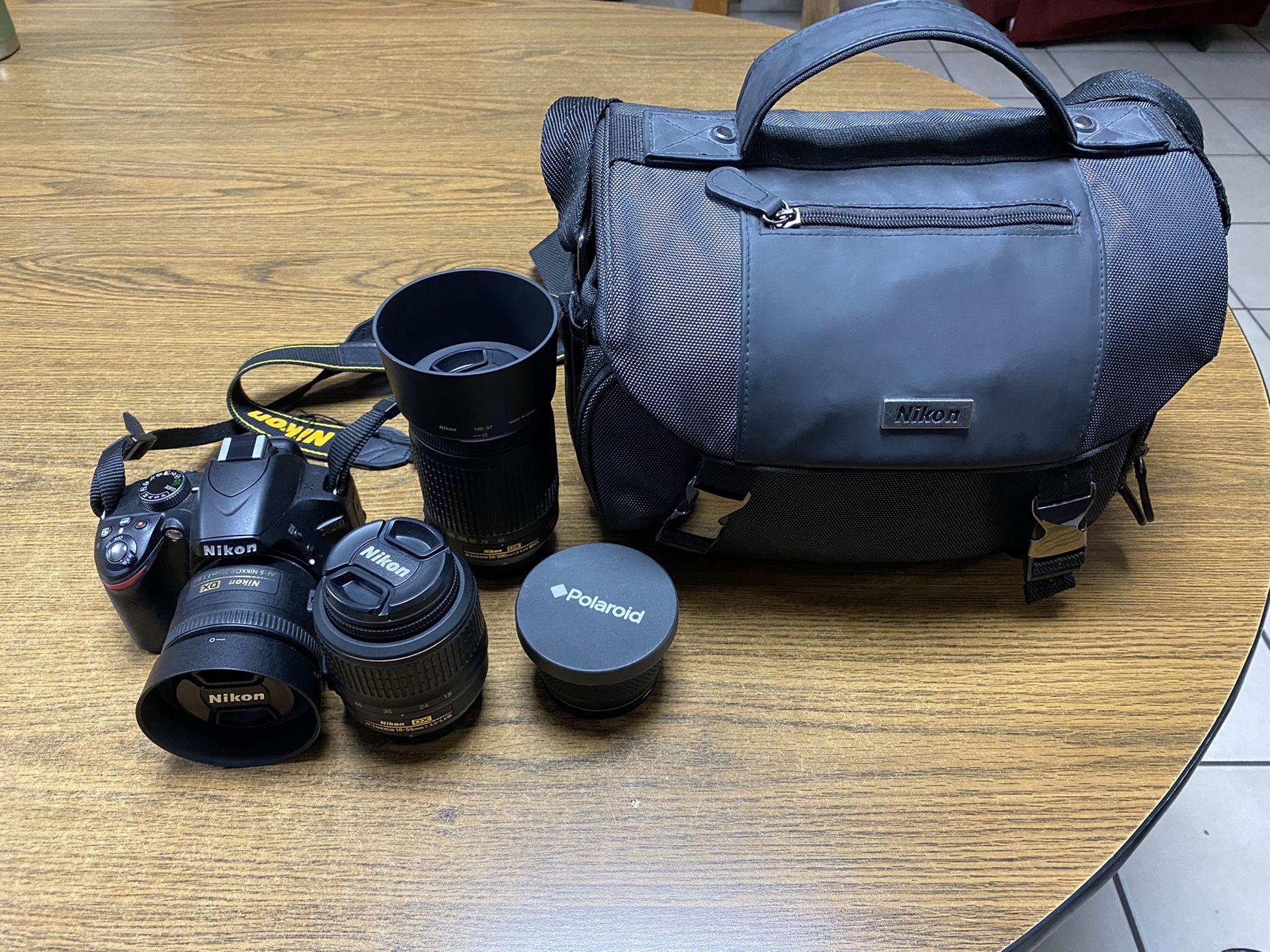 Nikon 3200 kit