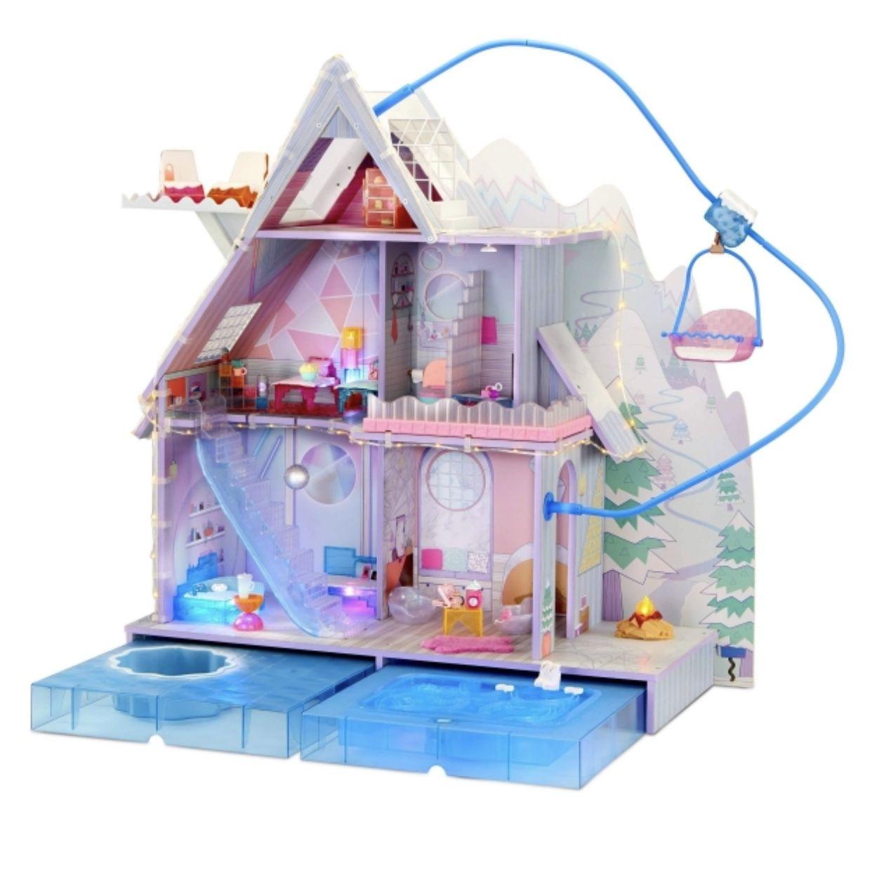 BRAND NEW Lol Surprise OMG Winter Chill Cabin