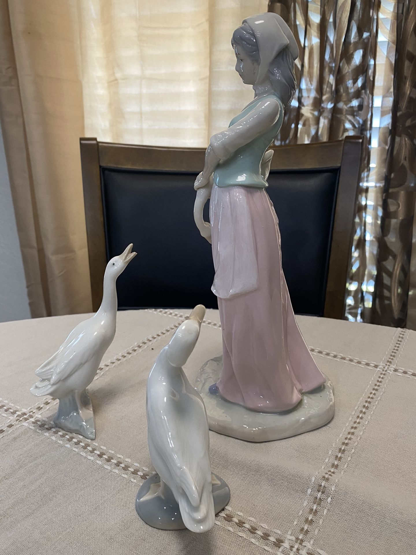 Lladro Figurine 3 Piece Set