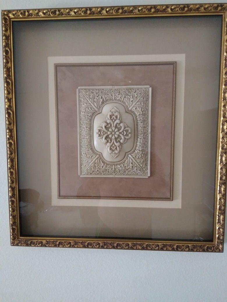 2 Bombay Art  Frames
