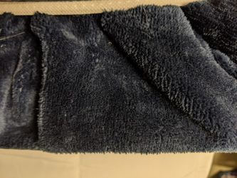 Weighted Blanket 12 pounds, new, Blue Thumbnail