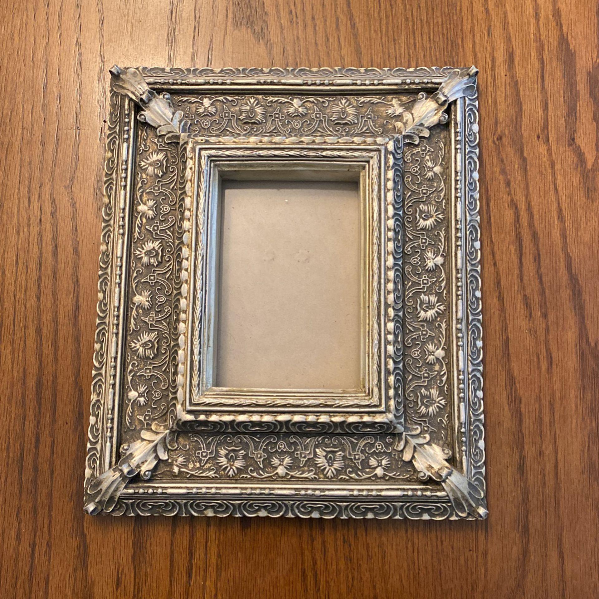 Antique Pewter Frame