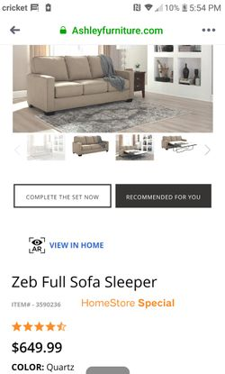 Ashley Sofa Sleeper Thumbnail