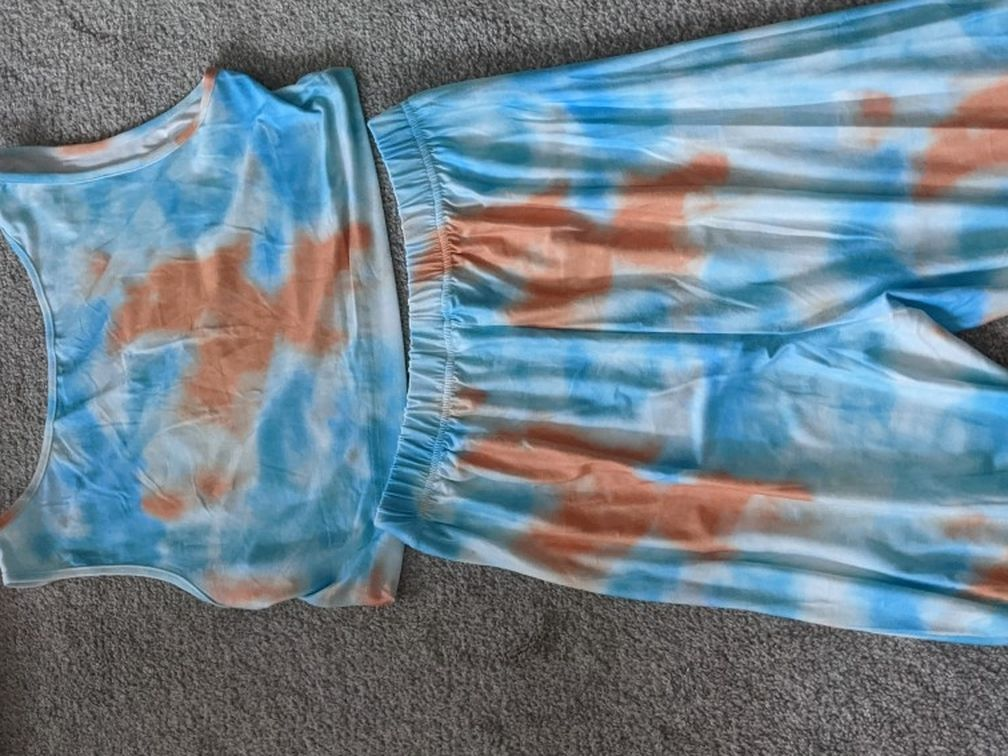 Tie Dye Matching Outfit In Size XL
