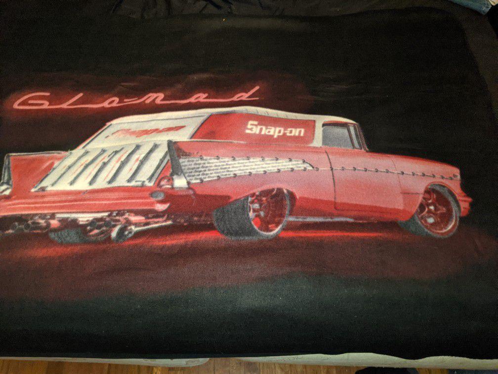 Snap On Glowmad 5*7 Blanket