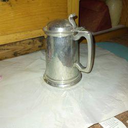 Pewter Vintage Beer Mugs 2 Total Thumbnail