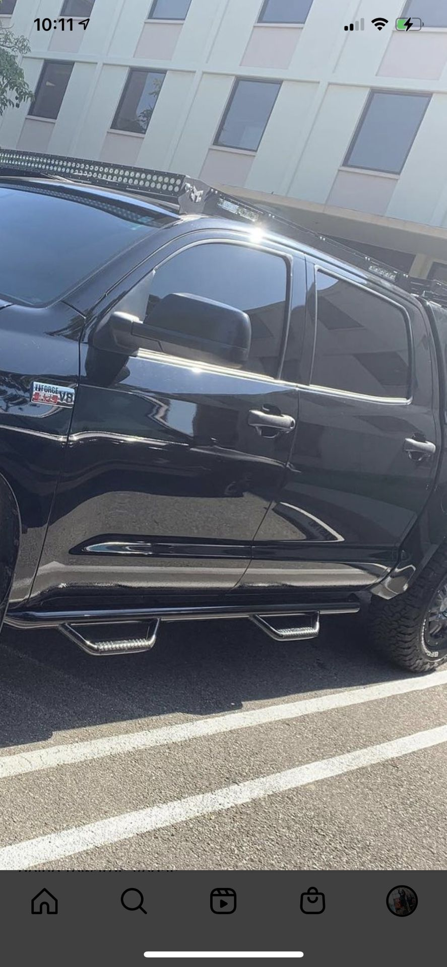 N-Fab Nerf Steps For Toyota Tundra  Crewmax