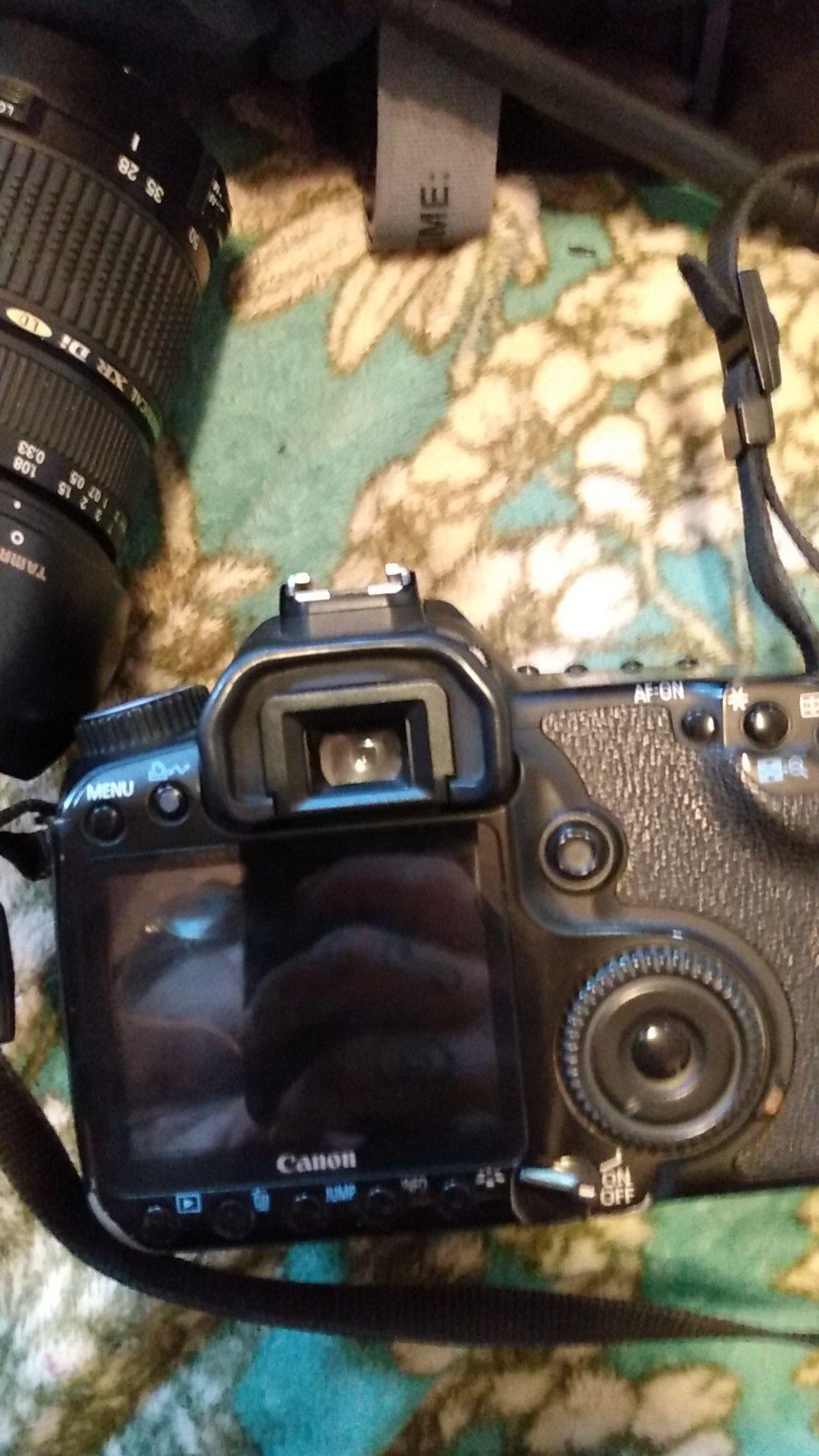 Canon EOS40D with tamaron 75 nm lense