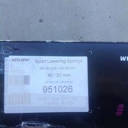 E34 Vogtland Lowering Springs BMW Thumbnail
