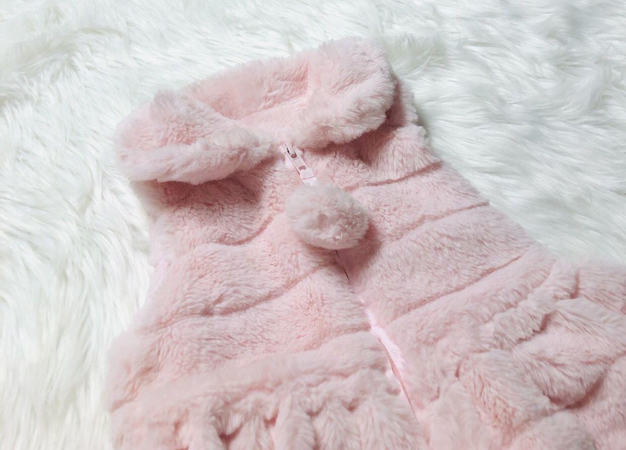 Mudpie Faux Fur Vest *12-18 Months