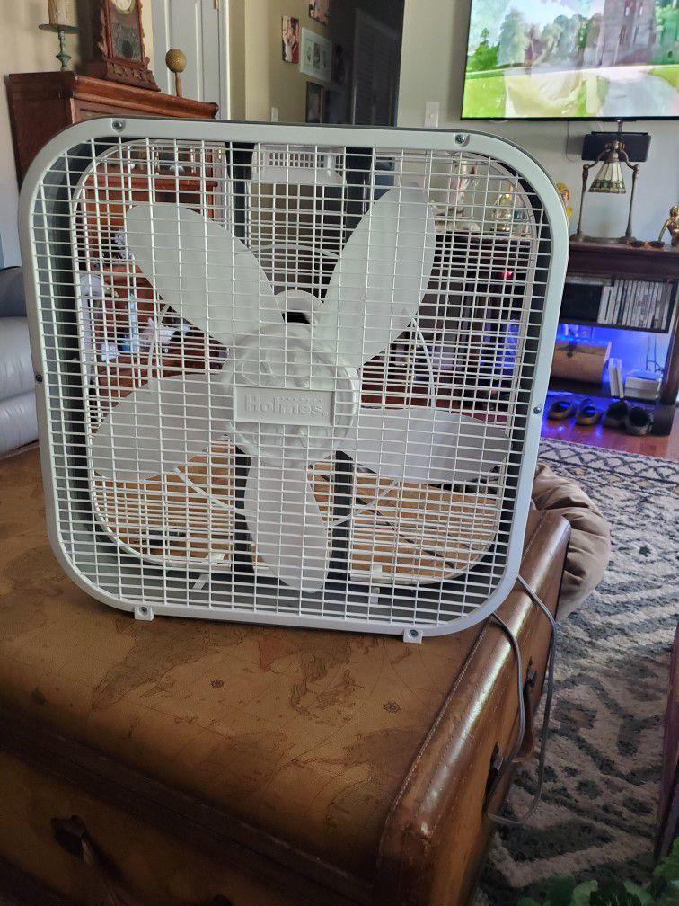 21in X 20in Holmes Box Fan
