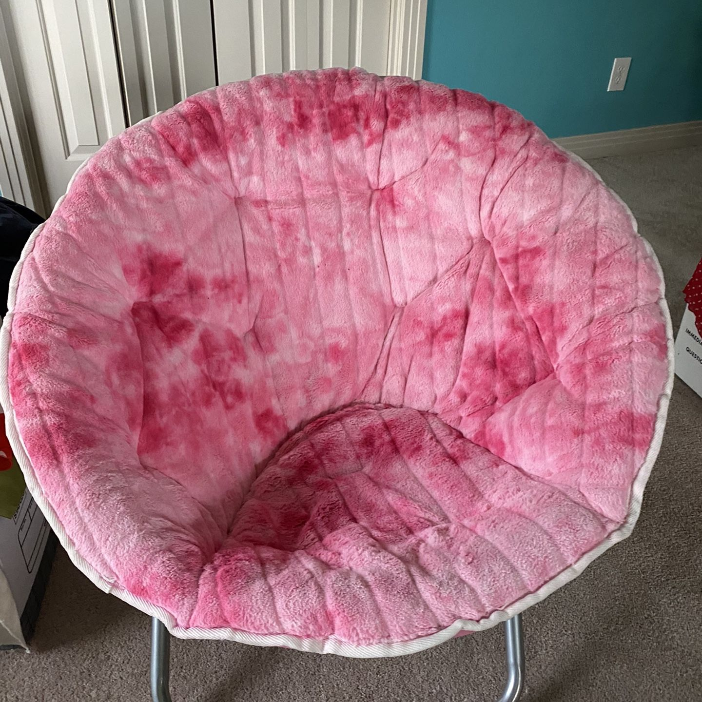Hang-A-Round chair Clean Seldom Used