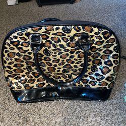 Hard Shell Cheetah Hello Kitty Purse Thumbnail