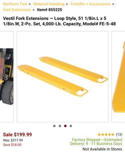 Vestil Forklift Extension FE-5-48 Thumbnail