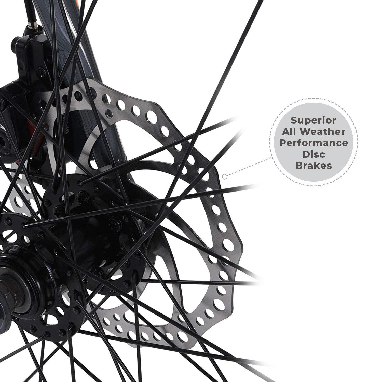 Vilano TUONO T20 Aluminum Road Bike 21 Speed Disc Brakes, 700c 58cm