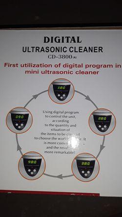Jewlery Ultrasonic cleaner Thumbnail