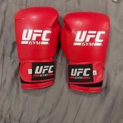 UFC Gym Gloves 14oz Red Thumbnail